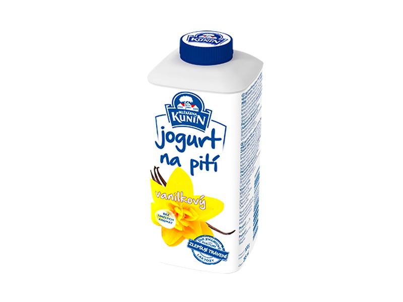Kunín Jogurt na pití vanilkový 300g