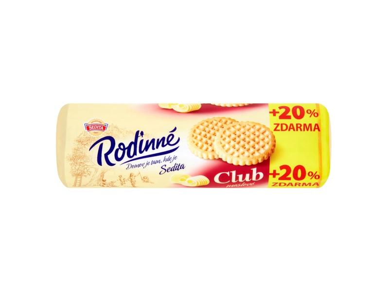 Sedita Club Máslové sušenky 140g + 20% ZDARMA