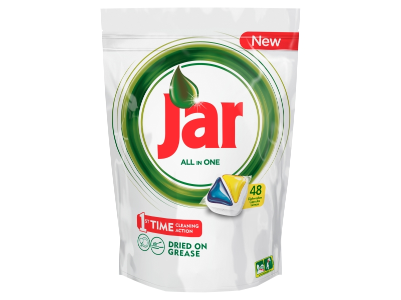 Jar All in One Lemon Kapsle do myčky 48ks