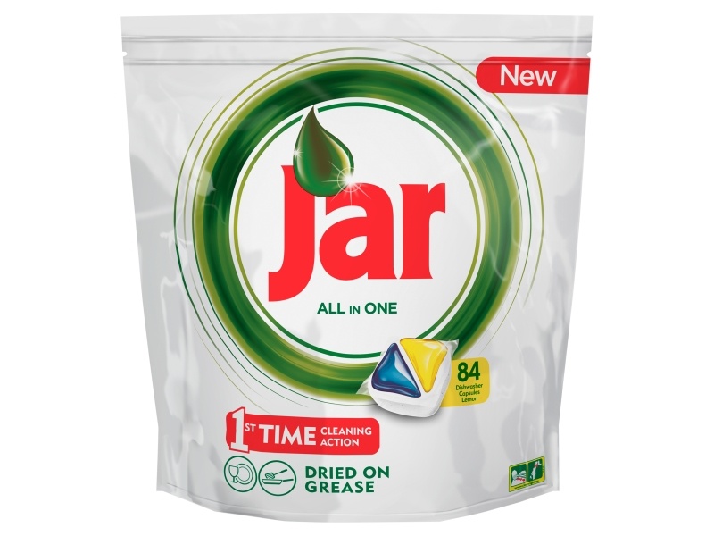 Jar All in One Lemon Kapsle do myčky 84ks