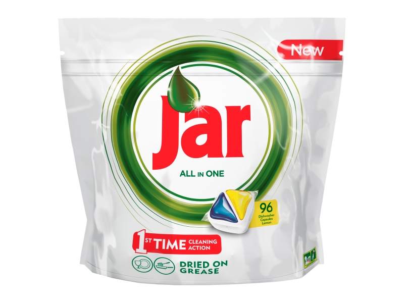 Jar All in One Lemon Kapsle do myčky 96ks