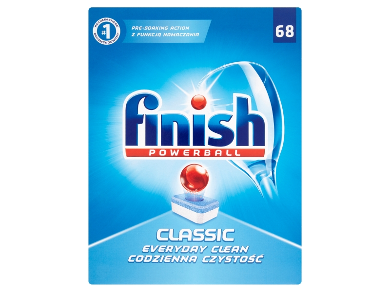 Finish Classic Tablety do myčky 68 ks