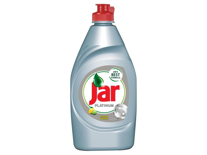 Jar Platinum Prostředek na mytí nádobí Lemon & Lime 430ml