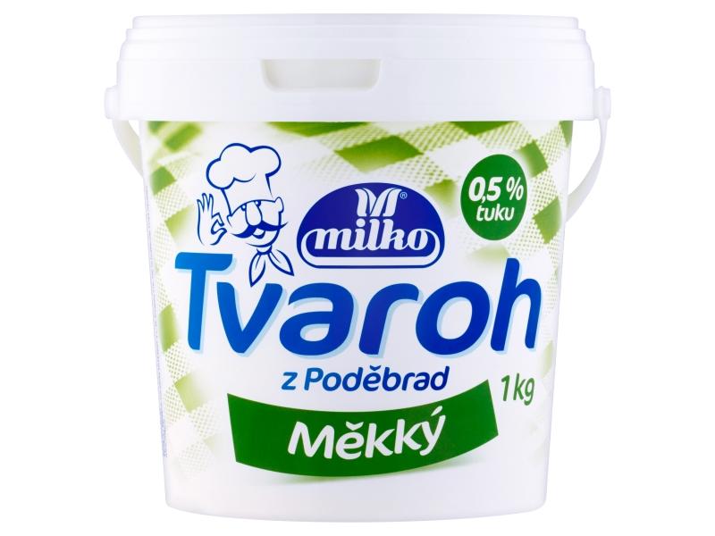Milko Tvaroh z Poděbrad měkký 1kg