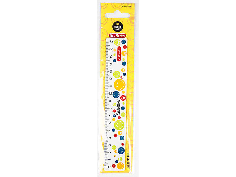 Herlitz Pravítko Smiley Rainbow 17cm 1ks