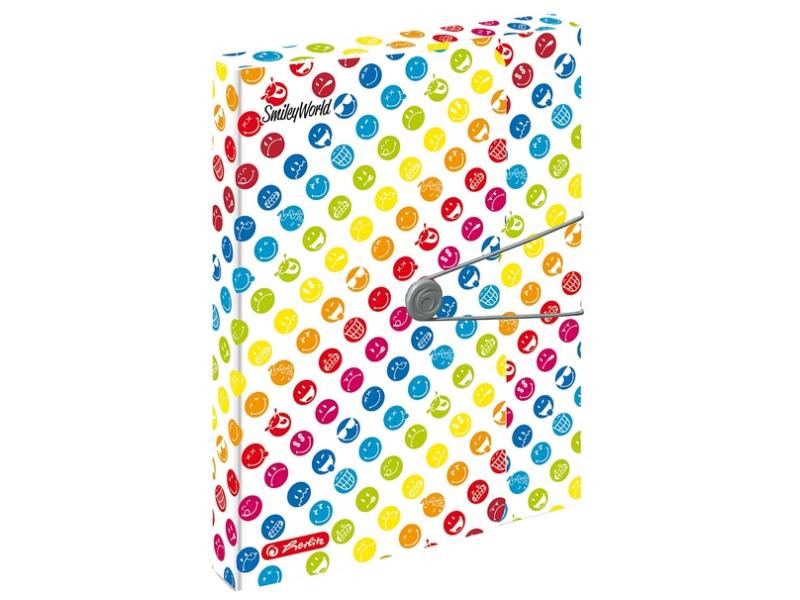 Box na spisy Herlitz SmileyWorld Rainbow A4