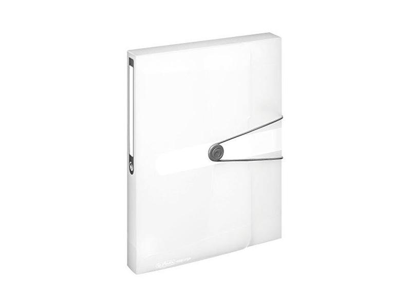 Box na spisy Herlitz Pastell A4 bílý