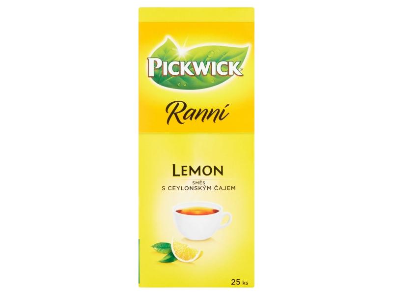 Pickwick Ranní čaj citron 43,75g