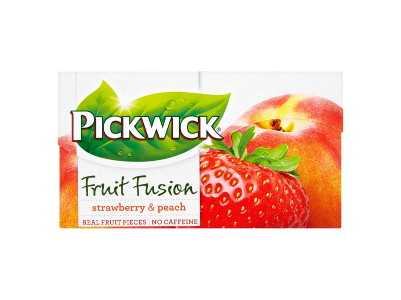 Pickwick Fruit Fusion Strawberry & Peach, 20x2g