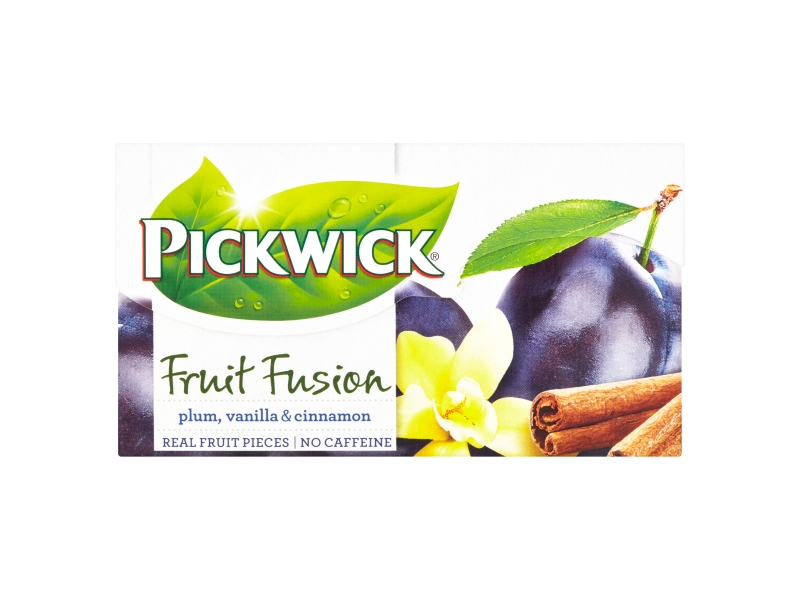 Pickwick Fruit Fusion Plum, Vanilla & Cinnamon, 20 x 2g