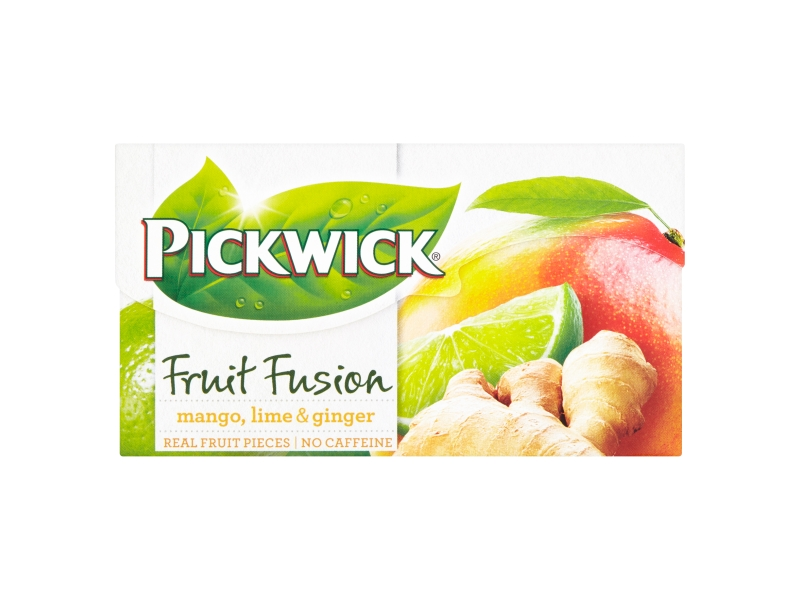 Pickwick Fruit Fusion Mango, Lime & Ginger, 20 x 2g