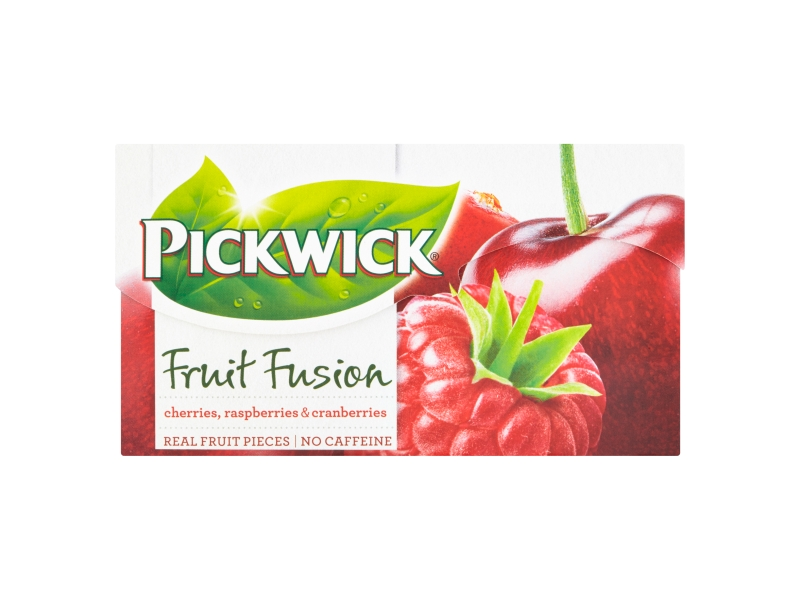 Pickwick Fruit Fusion Cherries, Raspberries & Cranberries 20x2g