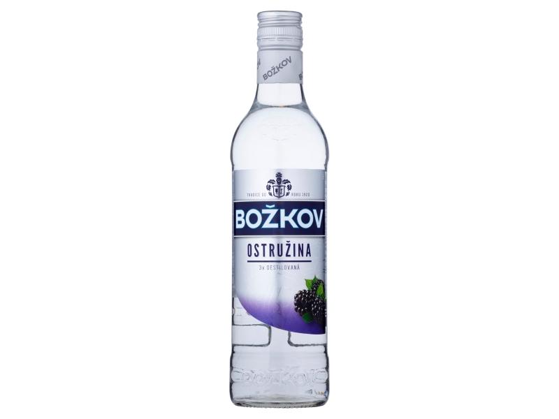 Božkov Ostružina Vodka 33% 0,5l