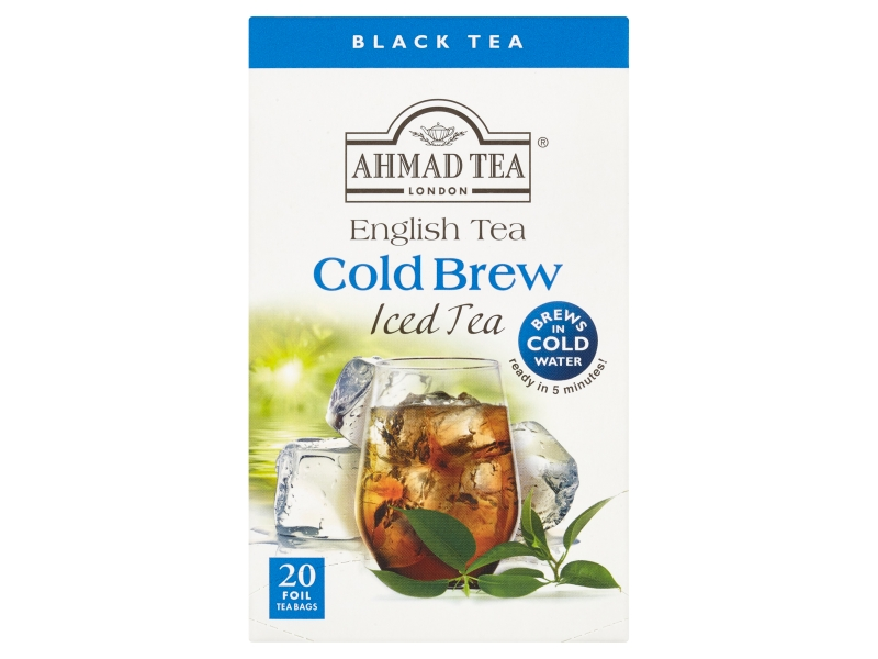 Ahmad Tea Cold Brew English Tea Černý čaj, 20x2g