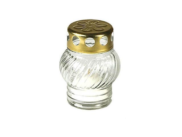 Hřbitovní lampa malá bílá 1ks