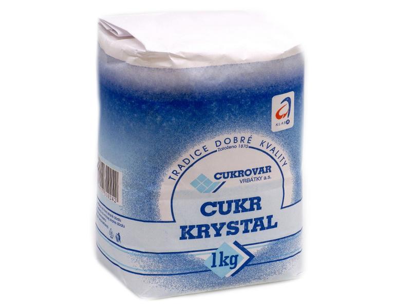 Vrbátky Cukr krystal 1kg
