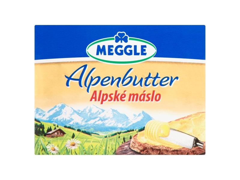 Meggle Alpské máslo Alpenbutter 250g