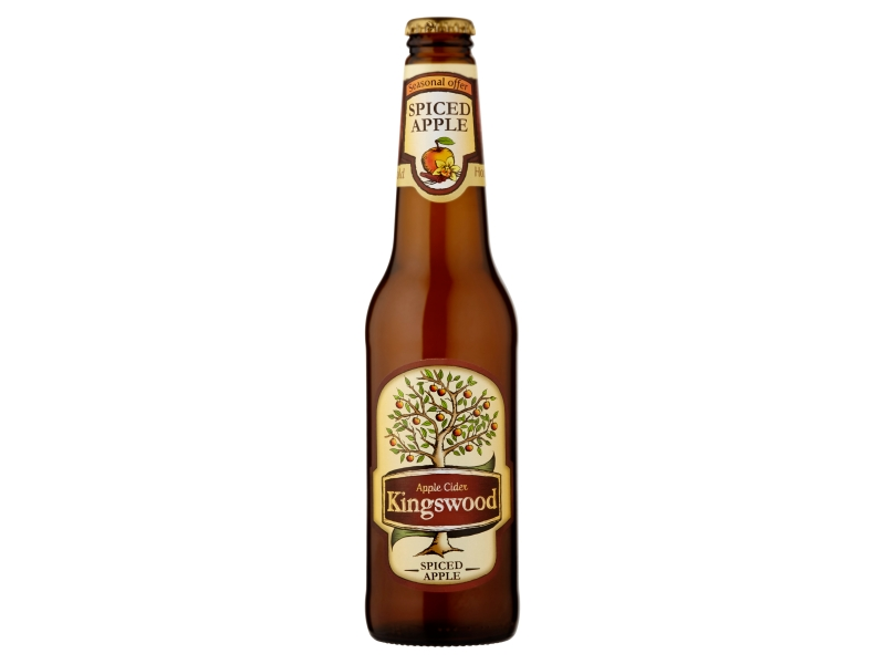Kingswood Spiced Apple cider 400ml