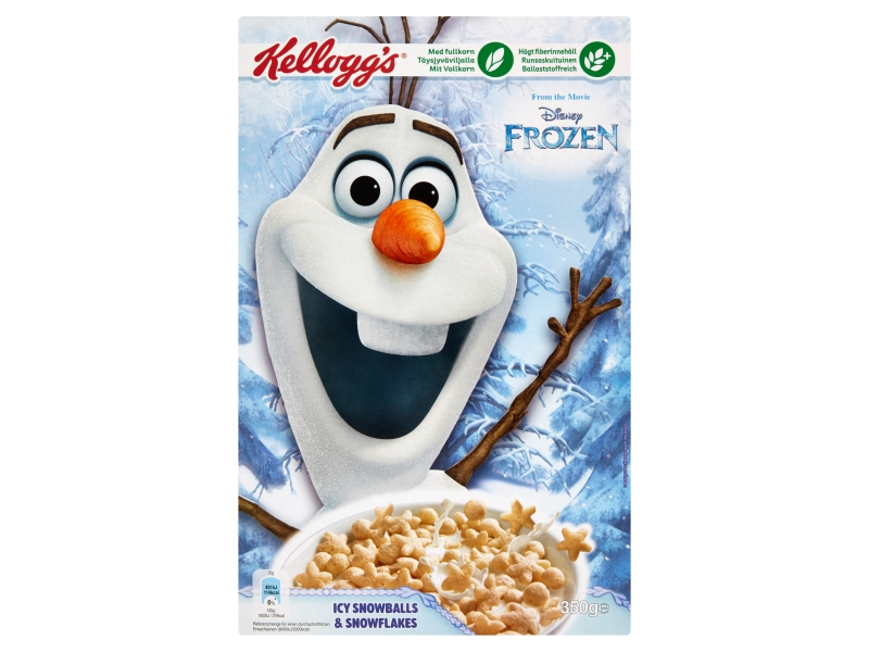 Kellogg´s Frozen rýžové cerálie s vanilkovou příchutí 350g