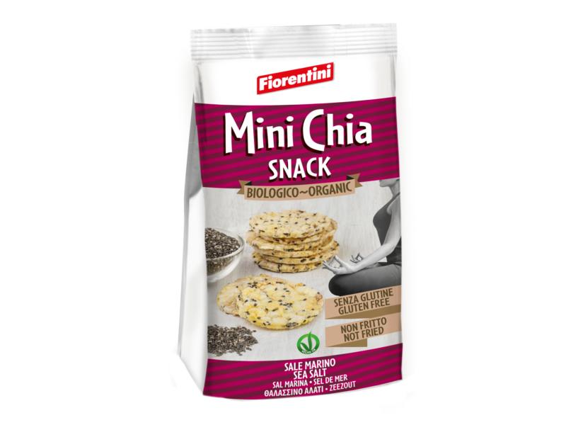Fiorentini Mini kukuřičné plátky s Chia semínky BIO 50g