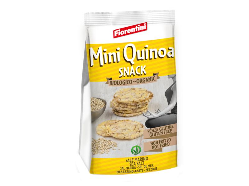 Fiorentini Mini Kukuřičné plátky s Quinoa BIO 50g