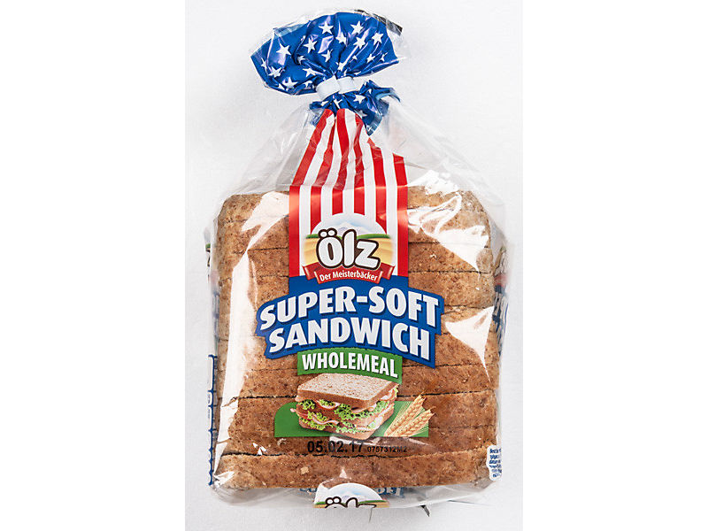 Ölz Super Soft Sandwich Chléb celozrnný 375g