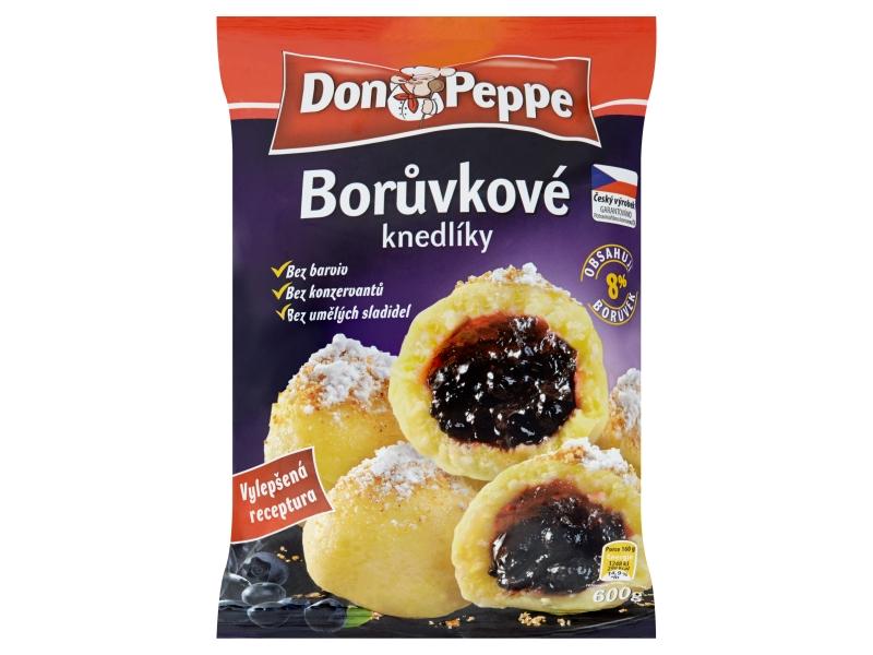 Don Peppe Borůvkové knedlíky mraž. 920g