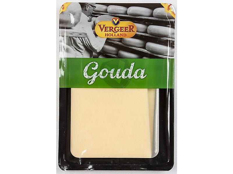 Vergeer Gouda sýr plátky 100g