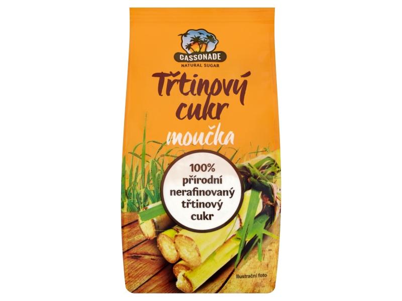 Cassonade Třtinový cukr moučka 400g
