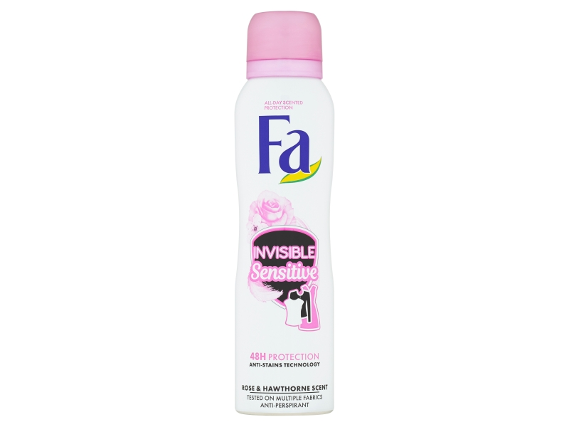 Fa antiperspirant Invisible Sensitive Rose & Hawthorne Scent 150ml