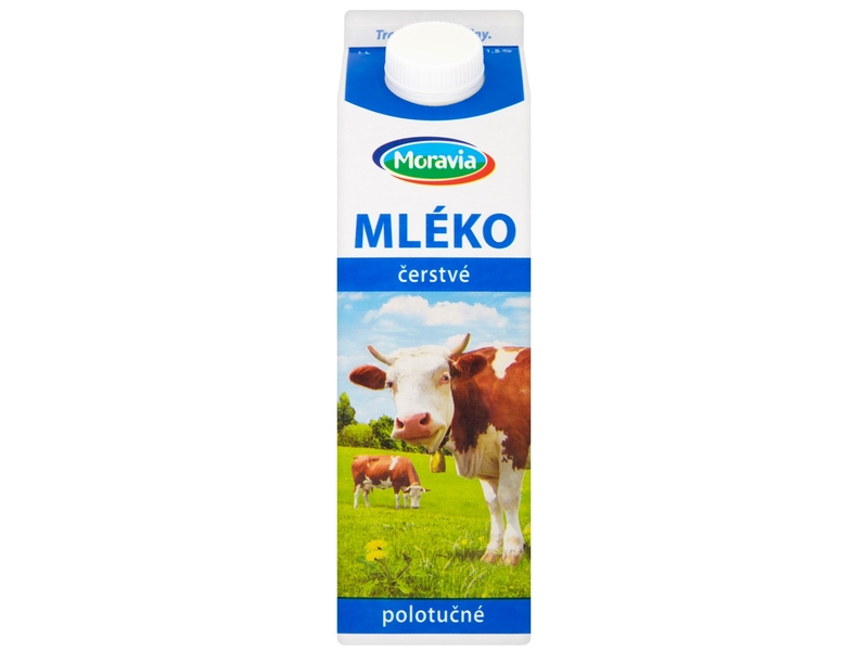 Moravia Mléko čerstvé polotučné 1,5% 1L