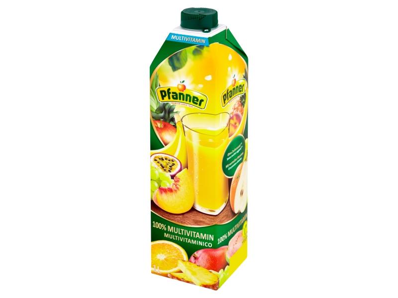 Pfanner 100% multivitaminová ovocná šťáva 1l