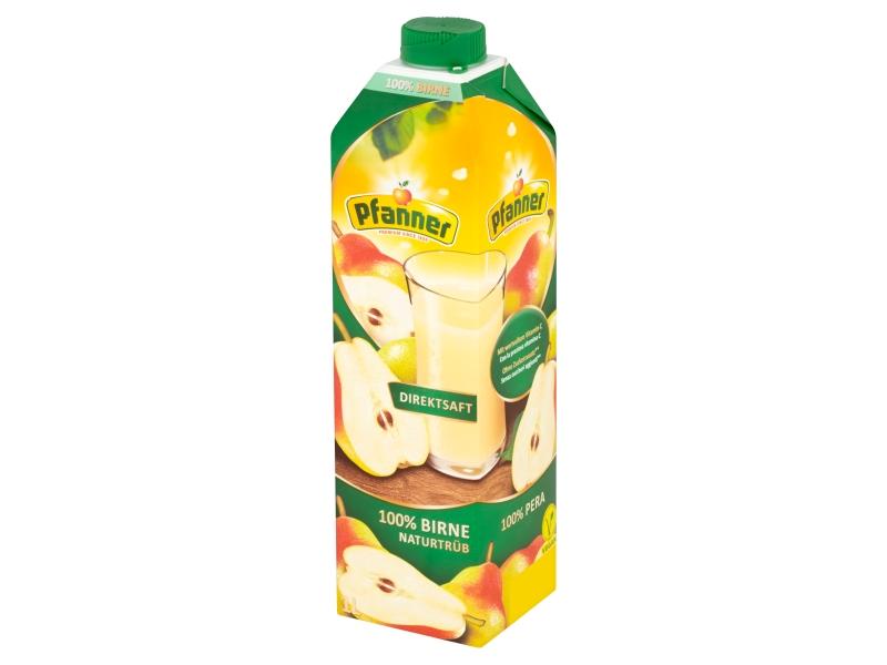 Pfanner 100% hrušková šťáva 1l