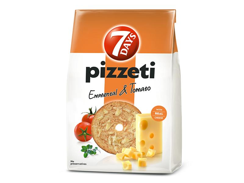 7Days Pizzeti se sýrem a rajčaty 80g