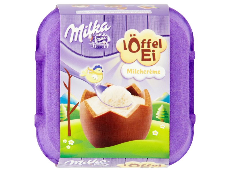 Milka Egg Vajíčka s mléčnou náplní 4x34g