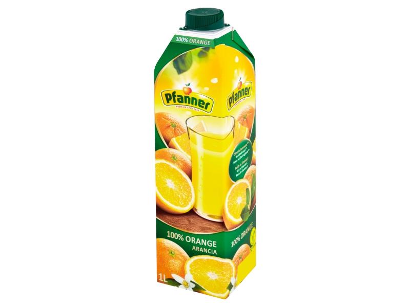 Pfanner 100% pomerančová šťáva 1l