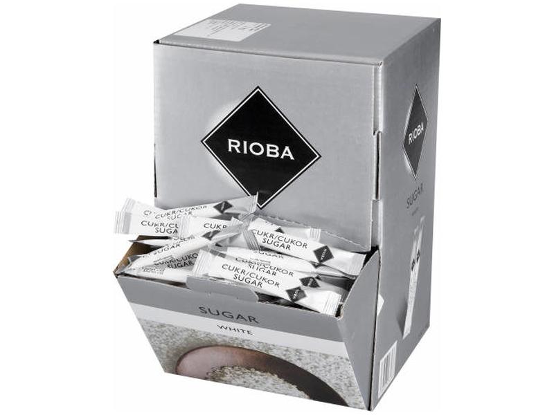 Rioba Cukr porcovaný bílý 500 x 4g