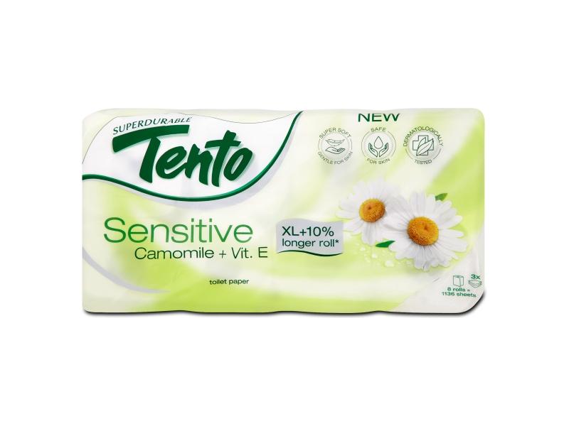 Tento Sensitive Camomile + Vit. E toaletní papír 8 rolí
