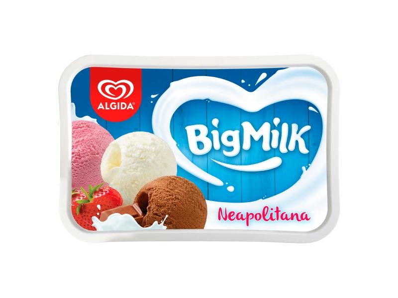 Algida Big Milk Trio Neapolitana 1l