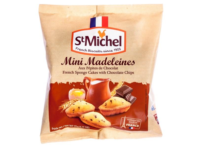 St Michel Mini Madeleines Pépites 175g