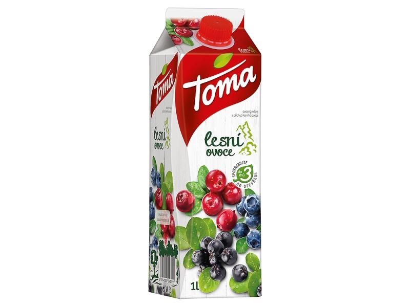 Toma Lesní ovoce Ovocný nápoj 1l