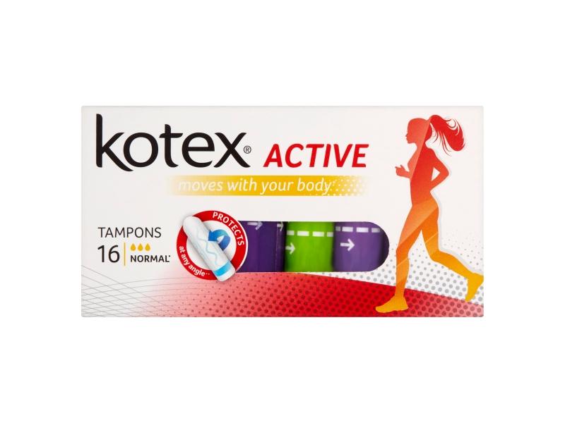 Kotex Active Normal tampóny 16 ks