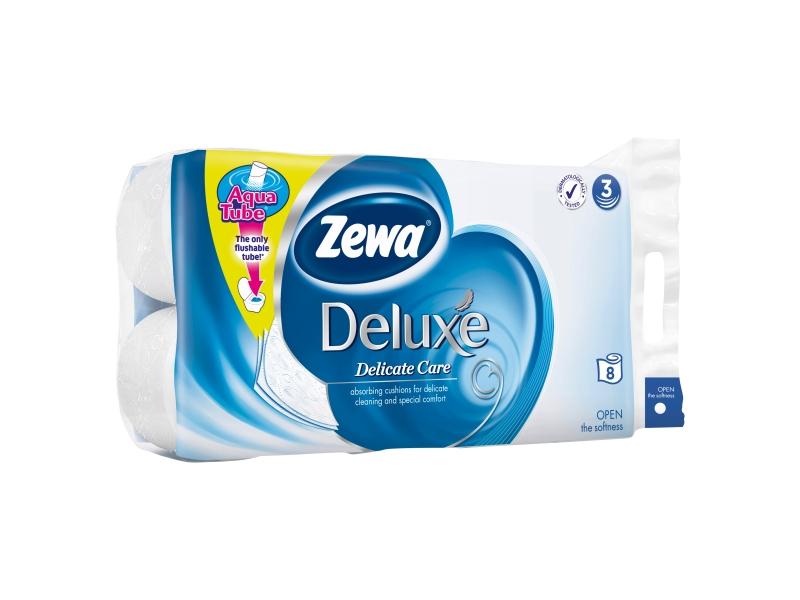 Zewa Deluxe Delicate Toaletní papír 3-vrstvý 8ks
