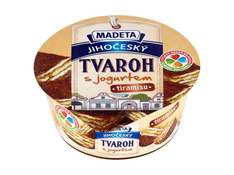 Madeta Jihočeský tvaroh s jogurtem tiramisu 135g