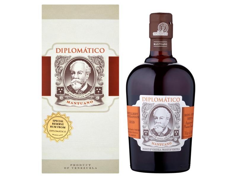 Diplomático Mantuano Rum 40% 700ml, krabice
