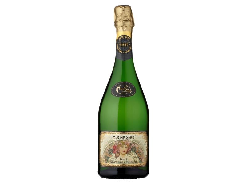 Mucha Sekt Brut Šumivé víno bílé 0,75l