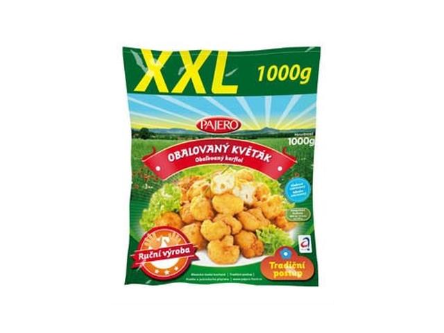 Pajero Obalovaný květák XXL mraž. 1kg