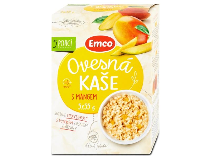 Emco Ovesná kaše s mangem 5x55g