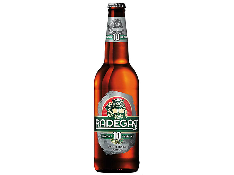 Radegast Rázná 10 pivo výčepní světlé 0,5l