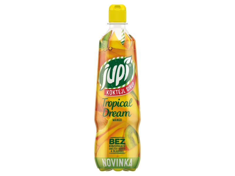 Jupí Koktejl Sirup Tropical dream mango 0,7l